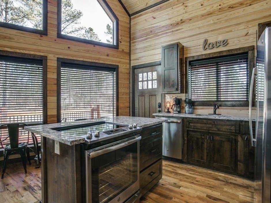 A-little-knotty-kitchen island