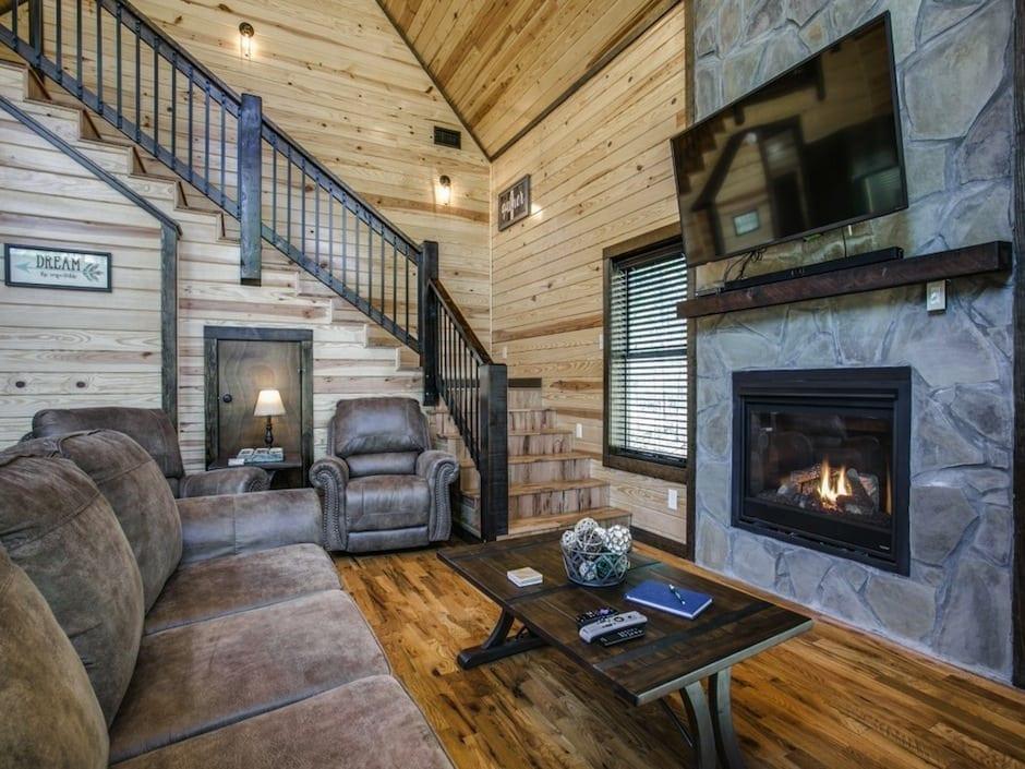 A-little-knotty-living fireplace2