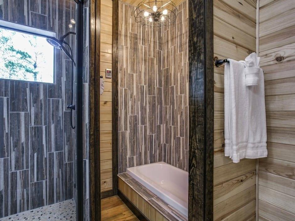 A-little-knotty-master bath shower_tub