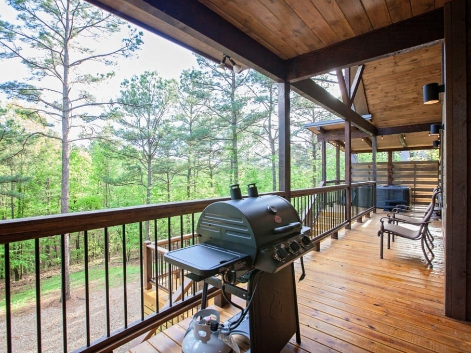 Broken Bow Vacation Cabins Magnolia Creek 1 Bedroom